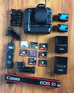 Canon 5D mark II with accessories