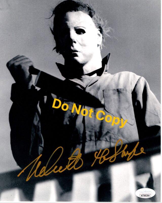 NICK CASTLE signed 8x10 Photo HALLOWEEN 1978 Michael Myers The Shape JSA