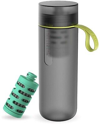 Philips GoZero Active Bottle with One Adventure Filter and Three Fitness Filters