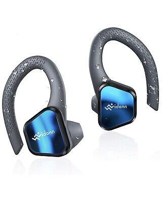 True Wireless Earbuds Running Sport, Vidonn T1 Half-in Ear Bluetooth Earbuds
