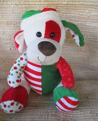 Kids of America  Dog PatchWork Chrismas Colors 14