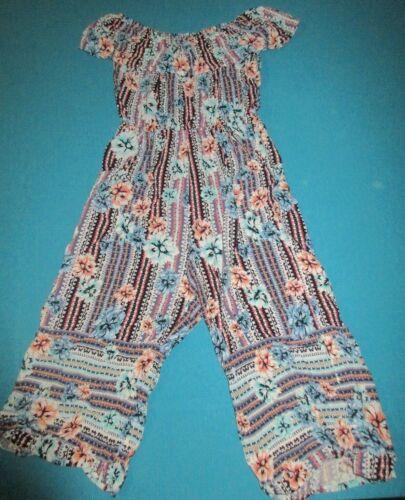 JUSTICE Girls Jumper Jumpsuit Pants Romper Size 10