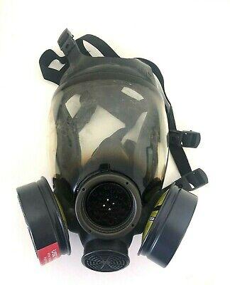 Msa Advantage 1000 Riot Control Full Face Respirator Gas Mask Size Large Lg