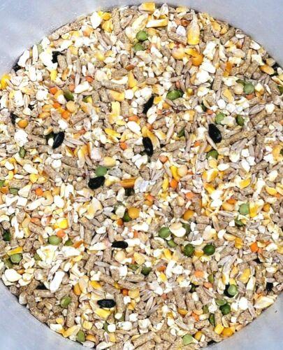 Chicken Duck Pigeon Deer Feed Scratch Grain Pellets Calcium 5 Pounds Omegas 3 6