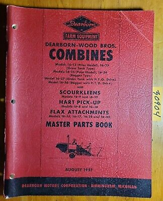 Dearborn Wood 16-13 16-14 16-23 16-24 16-37 16-38 Combine Master Parts Manual 51