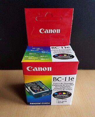 Genuine Canon BC-11e Ink Cartridge - Canon Bubble Jet Color BJC50, BJC70, BJC80 Canon Canon Bubble Jet