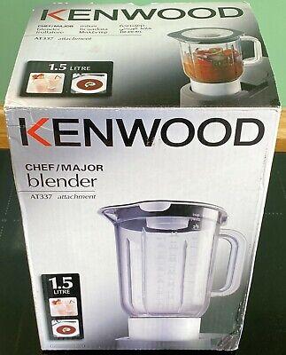 Kenwood Chef or Major – AT337 Acrylic Liquidiser – BNIB – Suits A901, KM200, &c.