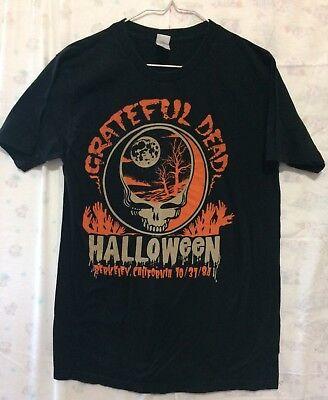 Grateful Dead Halloween (Grateful Dead Vintage Berkeley CA. HALLOWEEN 10/31/1984 T-Shirt - Rare,)