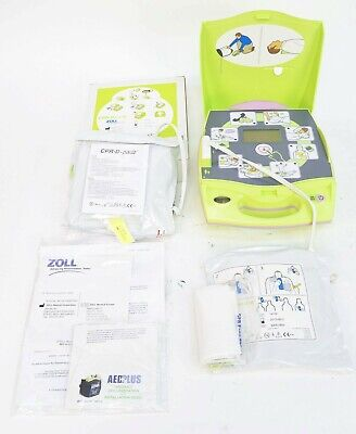 Zoll Aed Plus Automated External Heart Defibrillator W Pads