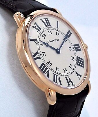 Cartier Ronde Louis 2889 W6800251 Large 36mm 18K Rose Gold Watch *BRAND NEW*