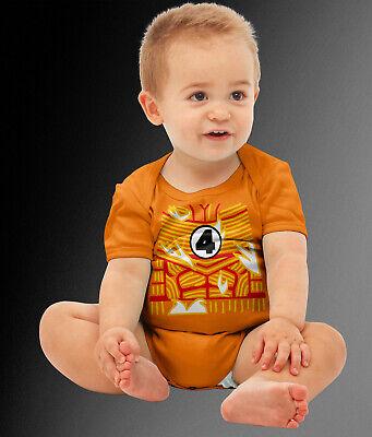 Baby Torch Superhero Comic Halloween Costume Cosplay Bodysuit  - Flashlight Halloween Costume