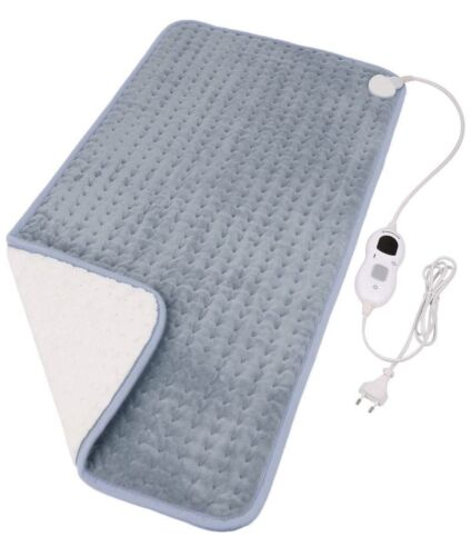 "NEW Diwenhouse Heating Pad 12"" x 24"" Charcoal gray"