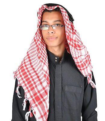 Kopfbedeckung Scheich Kostüm Set  Araber Öl-Scheich Fasching  Karnevalskostüm - Arabische Scheich Kostüm Kopfbedeckung