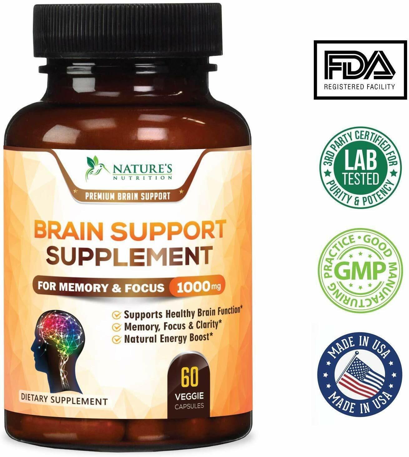 Pastillas naturales para la memoria vitaminas estudiar leer escuela recordar