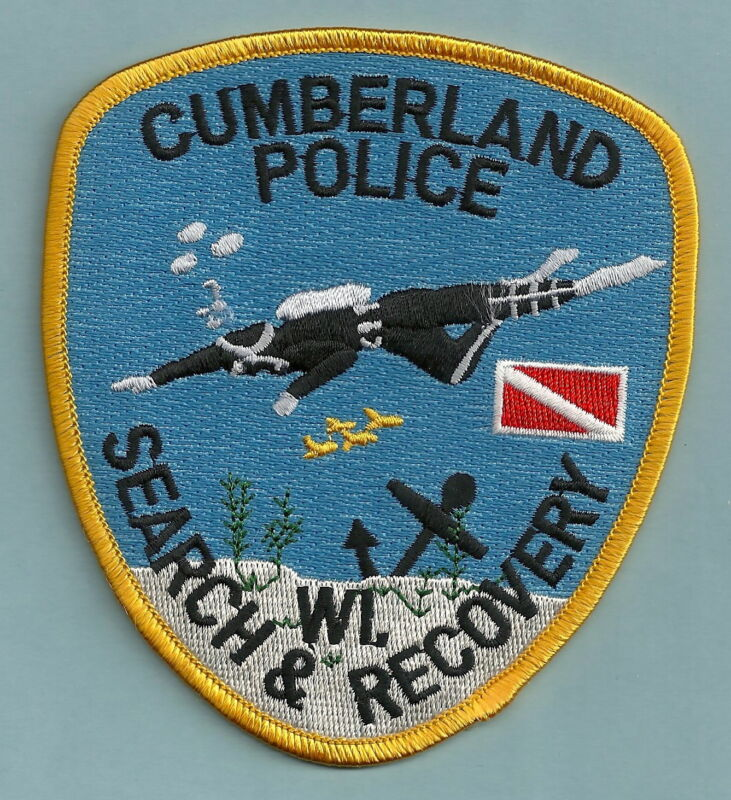 CUMBERLAND WISCONSIN POLICE DIVE & RECOVERY TEAM SHOULDER PATCH