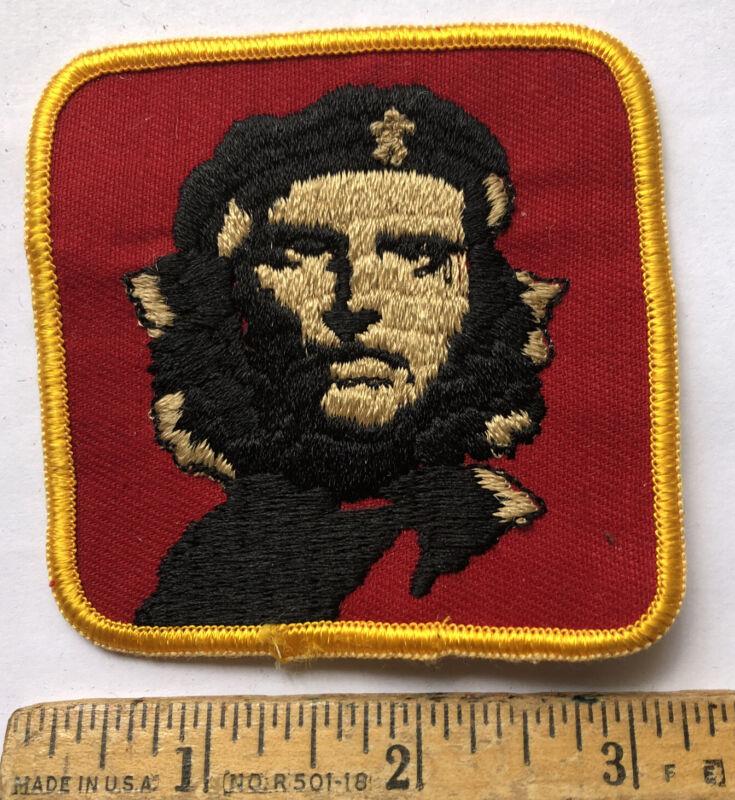 Vintage Che Guevara Patch Cuba Revolution Socialist Rebellion Leader