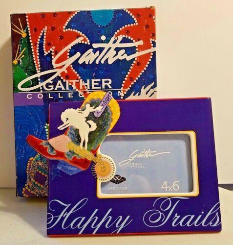 Westland Gaither Collection Happy Trails 4X6 Ceramic Frame 13139 NIB