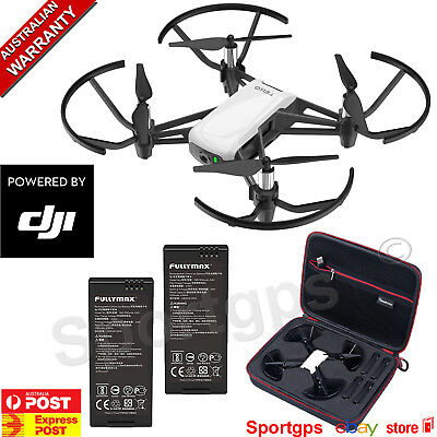 DJI RYZE TELLO MINI 720P CAMERA DRONE 2 X BATTERIES + CARRY CASE APP CONTROL