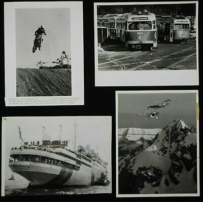 LG2-100  MISC TRANSPORTATION  Lot of (500) VINTAGE PHOTOS  Cars  Planes  Boats +