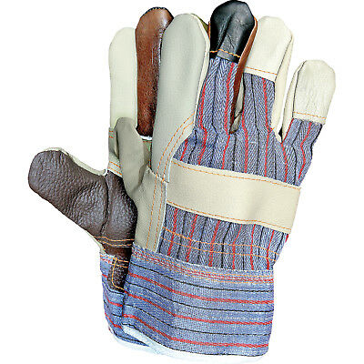 Arbeitshandschuhe 12 Paar Schutzhandschuhe Handschuhe Leder Gr. 10 NEU TOP