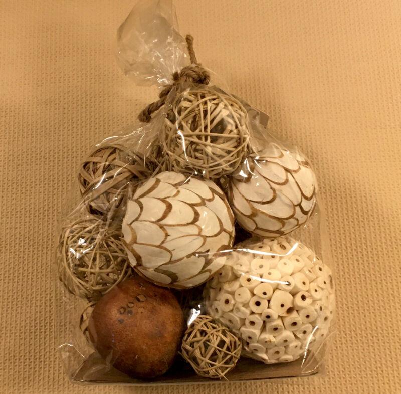 Decorative Orbs Bag , Balls for Tabletop Display, Bowl , Decor Filler