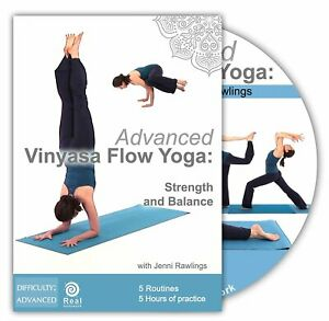 Advanced Vinyasa Flow Yoga: Strength and Balance (2 hours DVD)