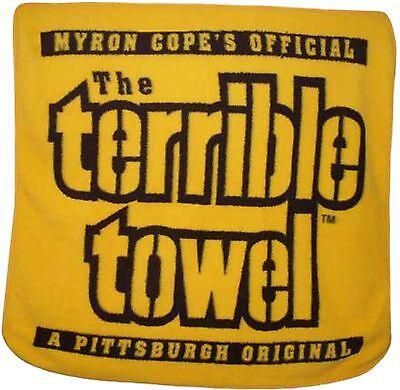 Pittsburgh Steelers Terrible Towel Large Soft Fleece Throw Blanket 50