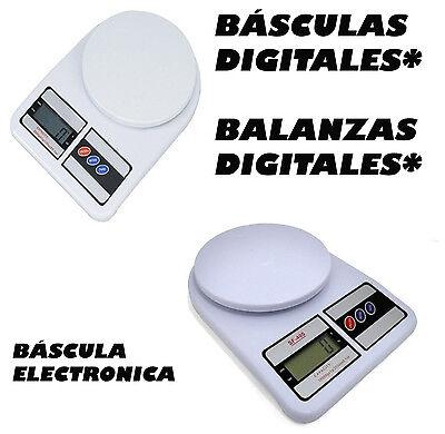 PESO DIGITAL PRECISION DE 1 GR A 5 KG BALANZA COCINA DIGITAL...