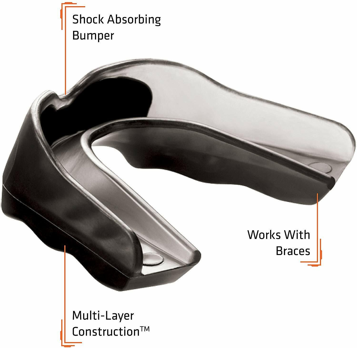 Shock Doctor Adult Pro Strapped Mouth Guard