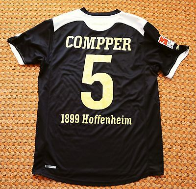 TSG 1899 Hoffenheim, Away Football Shirt by Puma Large, #5 Compper, Player Issue image