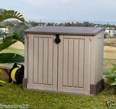 Keter Store-It-Out MIDI Outdoor Resin Horizontal Storage Shed