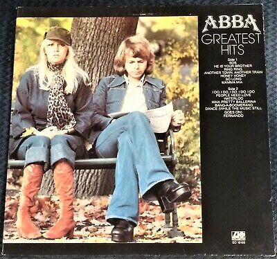 ABBA - Greatest Hits LP w/ SOS Mamma Mia WATERLOO I Do I Do I Do I Do FERNANDO