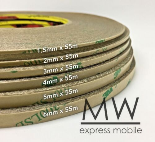 3m 300lse 55m Length Transparent Clear Double Sided Strong Adhesive Tape Repair