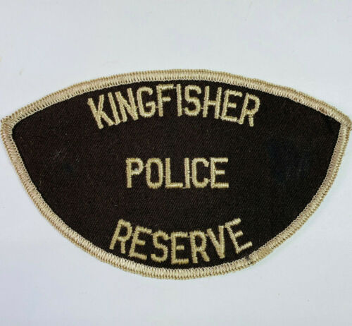 Kingfisher Reserve Police Kingfisher County Oklahoma OK Patch