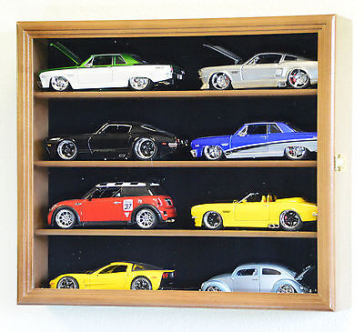 1/24 Scale Diecast Model Car Display Case Rack Holder 8 C...