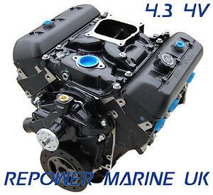 New 4.3L V6 Marine Engine, Repower Mercruiser, Volvo Penta, OMC