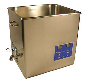 NEW 10L 2.5 GALLON STAINLESS STEEL ULTRASONIC CLEANER W/ TIMER & HEATER JEWELRY