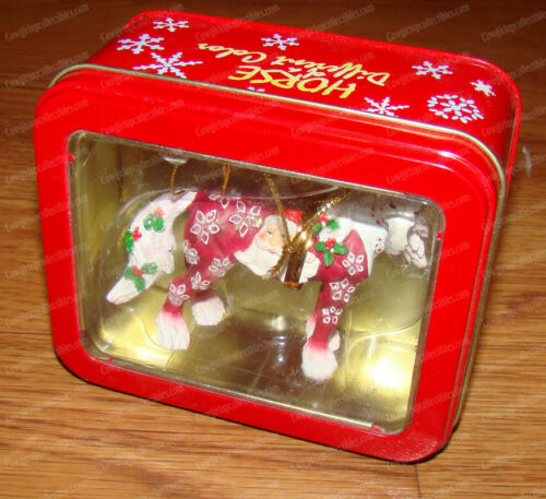 Clydesdale Santa Claus Ornament (Horse of a Different Color by Westland #20640)