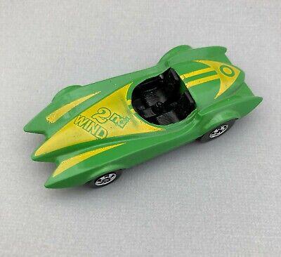 1991 India Hot Wheels Second Wind Sports Car Lt Green MIB