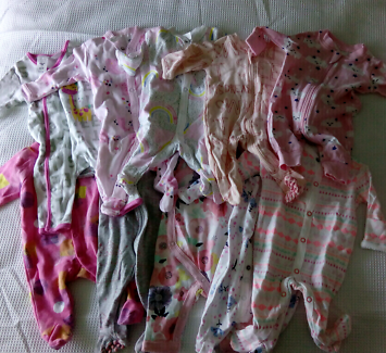 Mix Used & New Newborn Baby Girl Clothes 0000