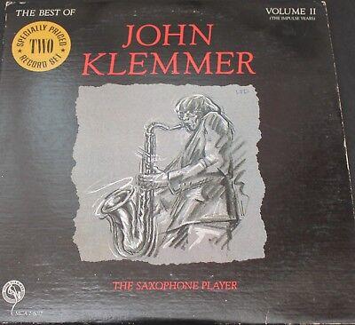 John Klemmer The Saxophone Player The Best Of Volume II LP - 1982