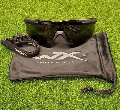 Wiley X Saber Advanced Smoke Grey Lens Matte Black Frame Sunglasses - (Wiley X Saber Advanced Sunglasses)