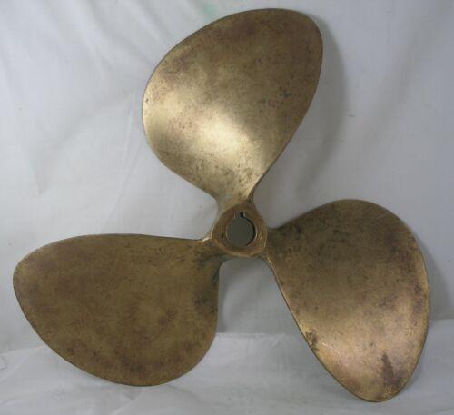 """Antique Bronze  Propeller  nautical  propeller  17"""" Columbian Bronze Hydroflite"""