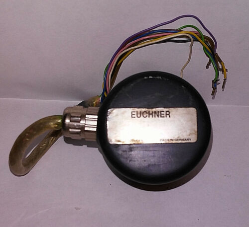 1 USED EUCHNER PWE012LP047150 ROTARY ENCODER ***MAKE OFFER***