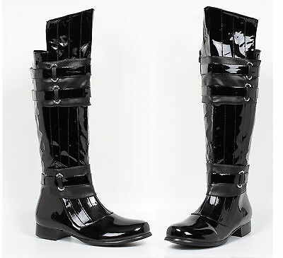 Black Star Wars Darth Vader Kylo Ren Mens Costume Cosplay Boots size 8 9 10 11 - Darth Vader Boots