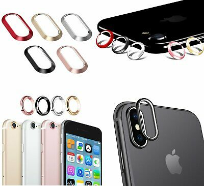 For iPhone 6 6S 7 8 Plus X Rear Camera Lens Protector Ring Cover ***USA Seller** Cases, Covers & Skins