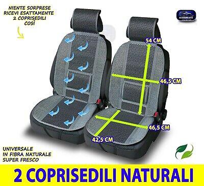 Coprisedili Dacia Duster Schienali sedile universali estivi anteriori ventilati