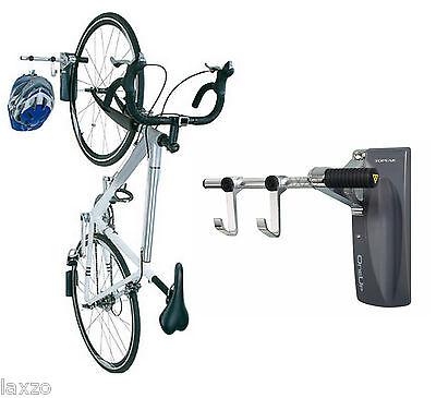 Topeak OneUp Wall Mount Bike Stand Holder Bicycle Storage Rack Hook Grey Silver
