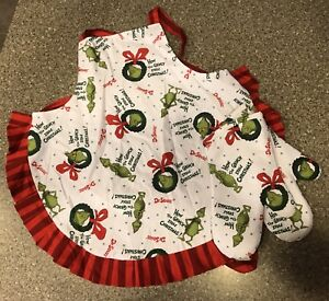 Child's Apron + Oven Mit *new without tags*
