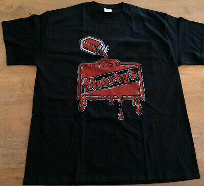 VINTAGE 90s Shorty's Skate Old School Skateboard Logos T Shirt Reprint
